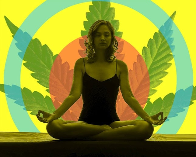 yoga cannabis